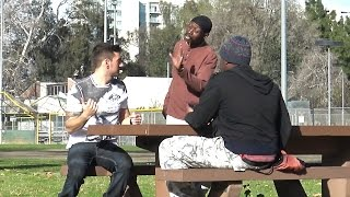 getlinkyoutube.com-Black People Racist towards White People? (Social Experiment)
