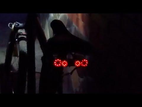 Задняя фара Nissan GTR своими руками на велосипед(велосипед Energy Monster 3 часть)
