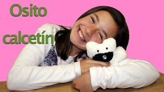 getlinkyoutube.com-Cómo hacer un oso con un calcetín. DIY Bear sock