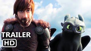 COMO TREINAR O SEU DRAGÃO 3 Trailer Brasileiro LEGENDADO (2019) Dreamworks Filme
