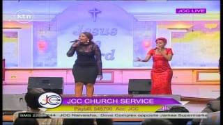 getlinkyoutube.com-Singers Lady B and size 8 performs at JCC Sunday service.