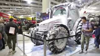 MF 5610 on the Antarctica2 stand at EIMA 2014