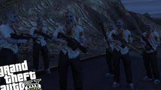 getlinkyoutube.com-GTA 5 PC - ZOMBIE INVASION VS ARMY BASE