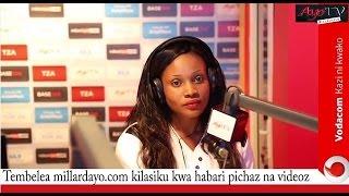 Majibu yote ya Shamsa kuhusu hii ya mapenzini na Nay wa Mitego