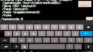 getlinkyoutube.com-Como Poner Comandos en Minecraft Pe 0.8.1/Mod Script