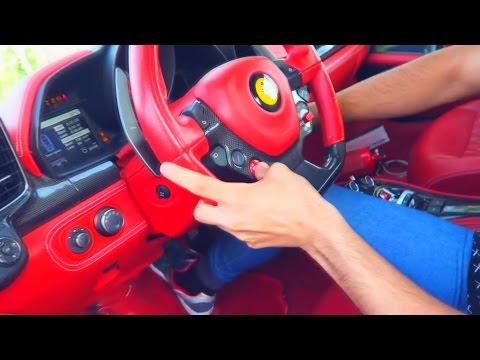 قصة سيارتي الجديده ( فيراري ) !!