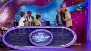 getlinkyoutube.com-moti khan indian idol auditions tere mast mast do nain