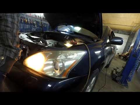 Lexus RX330 пропуски воспламенения или ремонт после крупного сервиса.