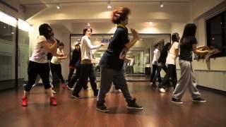 getlinkyoutube.com-EXID(이엑스아이디) - I Feel Good dance cover(完整版) /jimmy dance shilo老師