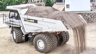 getlinkyoutube.com-R/C truck action at RC Glashaus! Construction site and road FUN!