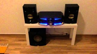 getlinkyoutube.com-Philips FX 55/12 Playing Bony M