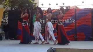 getlinkyoutube.com-Belly Dance by Indian College Girls