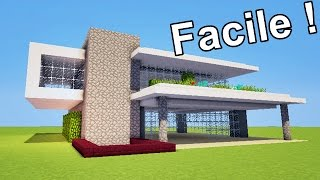 Download video minecraft tutoriel maison moderne vid o 2 2 - Comment faire une maison moderne minecraft ...
