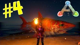 getlinkyoutube.com-ARK Survival Evolved #4 จับฉลามและโลมากันเถอะ