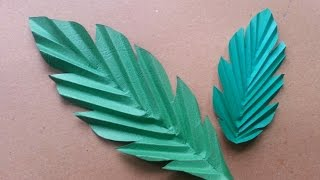 getlinkyoutube.com-How To Make Fun Paper Leaves - DIY Crafts Tutorial - Guidecentral