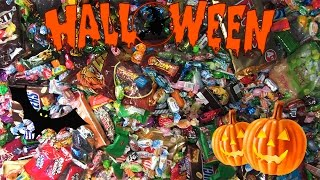 getlinkyoutube.com-New! A Lot Of Halloween Candy! A Lot Of Sweets And Surprise Eggs!