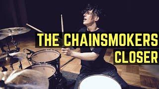 getlinkyoutube.com-The Chainsmokers - Closer (T-Mass Remix)  - Drum Cover