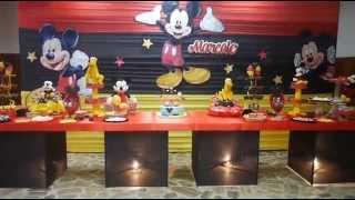 getlinkyoutube.com-Decoración Infantil - Mickey Mouse - Magicland