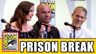 getlinkyoutube.com-PRISON BREAK Comic Con 2016 Panel - Wentworth Miller, Dominic Purcell, Sarah Wayne Callies, Season 5
