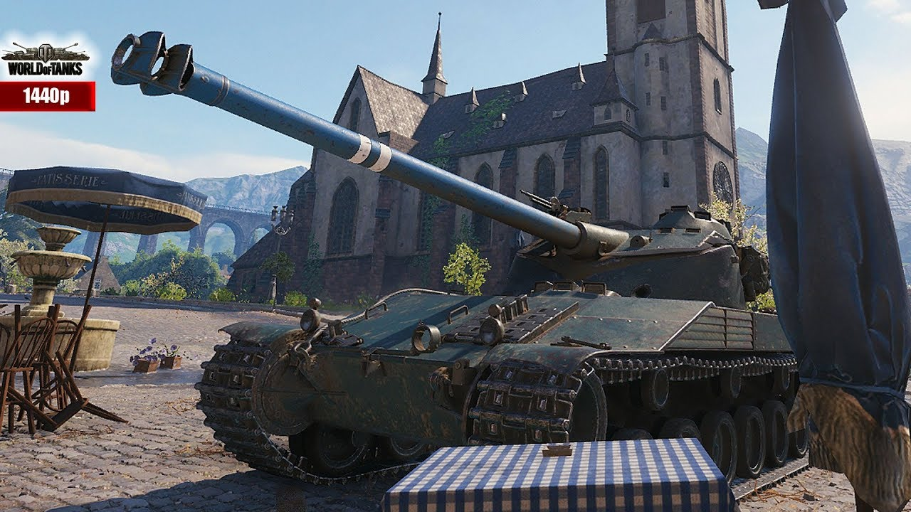 WOT  Bat  Ch tillon 25 t  EU vs  RU best games of the week