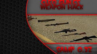[SAMP 0.3z] - CLEO Gun.cs ● WeaponHack [Download Link] 2014 ● Axpi