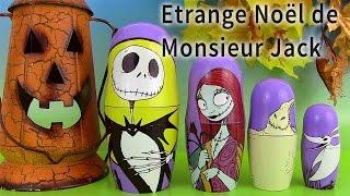 getlinkyoutube.com-Poupées Russes Surprise Halloween Nesting Dolls Etrange Noël de Mr Jack Skellington