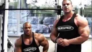 getlinkyoutube.com-Jay Cutler and Phil Heath - Chest Workout ( Jay Cutler, Phil Heath)