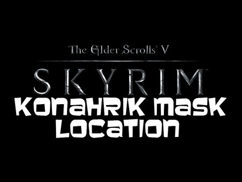 The Elder Scrolls V: SKYRIM - Rare Konahrik Mask Location Guide