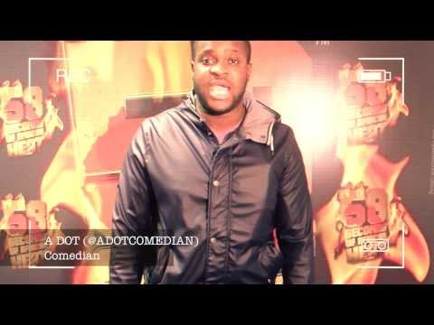 Adot Comedian 58 Seconds Of African Heat #58SOAH @ADOTCOMEDIAN @africax5 @djneptizzle @ADOTCOMEDIAN