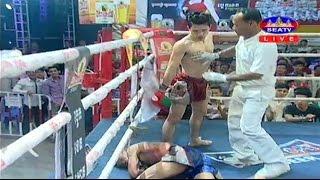 getlinkyoutube.com-Kun Khmer, Sen Radeth Vs Thai, Petchnakalang, SEATV boxing, 22 Jan 2017, K.O
