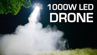 getlinkyoutube.com-1000W LED on a DRONE - RCTESTFLIGHT