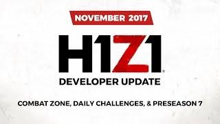 H1Z1 - November Developer Update