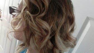 getlinkyoutube.com-Boucles sur Cheveux Courts - Tutoriel