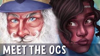 MEET MY OCs! | Side Characters - Gharoth and Lila | Jenna Drawing