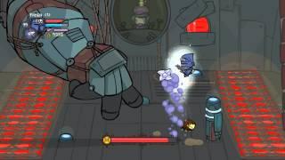 getlinkyoutube.com-PC: Castle Crashers Industrial Castle Insane Mode Solo (ninja pirate)