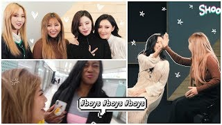 Working with MAMAMOO! + fighting over a BOY with Whitney!!!