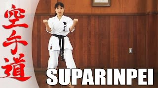 getlinkyoutube.com-Suparinpei - KARATE KATA