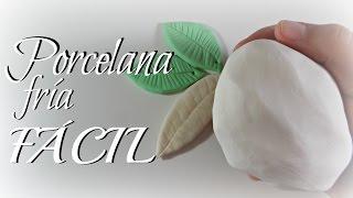 getlinkyoutube.com-Cómo hacer porcelana fría FÁCIL Y ECONÓMICA | Mundo@Party