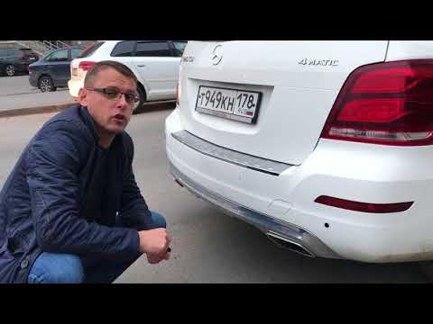 Вытащили парктроники из Mercedes GLK: Сволочи!!!