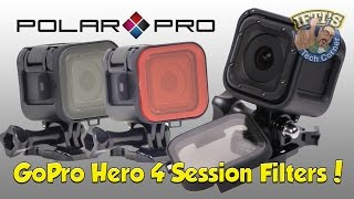 getlinkyoutube.com-GoPro Hero 4 Session - Polariser / Red Filter by PolarPro - REVIEW