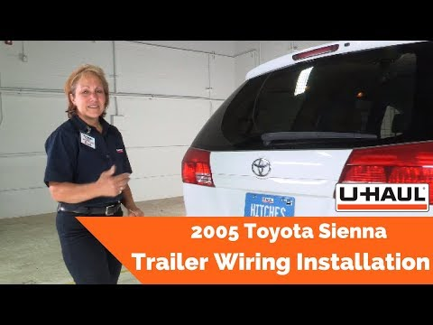 2005 Toyota Sienna Trailer Wiring Installation