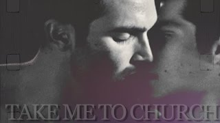 getlinkyoutube.com-Derek & Stiles || Take Me To Church (AU)
