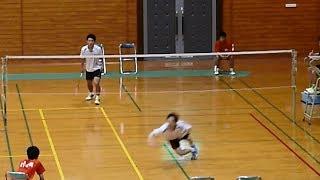 getlinkyoutube.com-バドミントン【名勝負集】高校総体・男子シングルス(県予選)