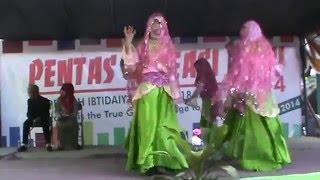 getlinkyoutube.com-Tari BarakAllah Maher Zain (MIN 18 Jakarta)