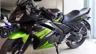 getlinkyoutube.com-Yamaha R15s - Normal Seat version TRACK WHITE and SPARK GREEN