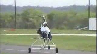 getlinkyoutube.com-Monarch gyrocopter doing stop and drop landings