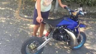 getlinkyoutube.com-test pit bike 125 2 tempi