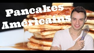 getlinkyoutube.com-Ma Cuisine Américaine : Les Pancakes Américains (sous-titres anglais)