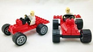 getlinkyoutube.com-Loz Racing Car 레이싱카 자동차 레고 케이넥스 호환 블럭 장난감 조립기 Lego Knex block