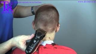getlinkyoutube.com-Two girls shaved in one video, side cut and clipper cut by Theo knoop